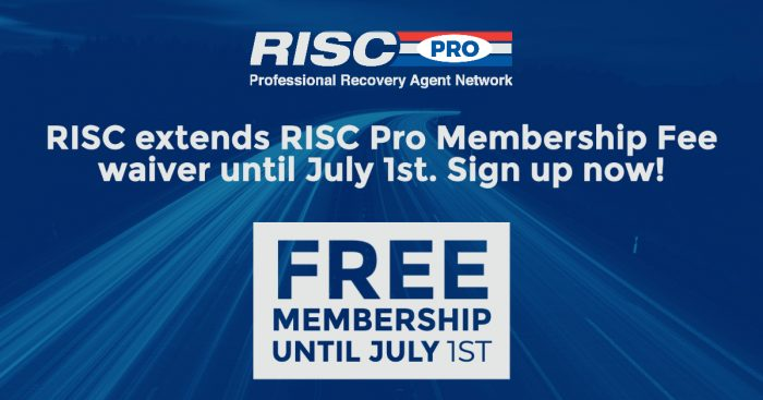 RISC extends its waiver of RISC Pro membership/education subscription fees through July 1, 2020.